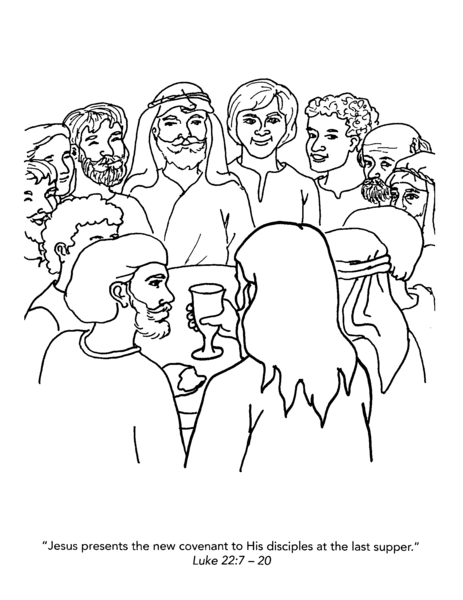 Jesus And Disciples Clipart.