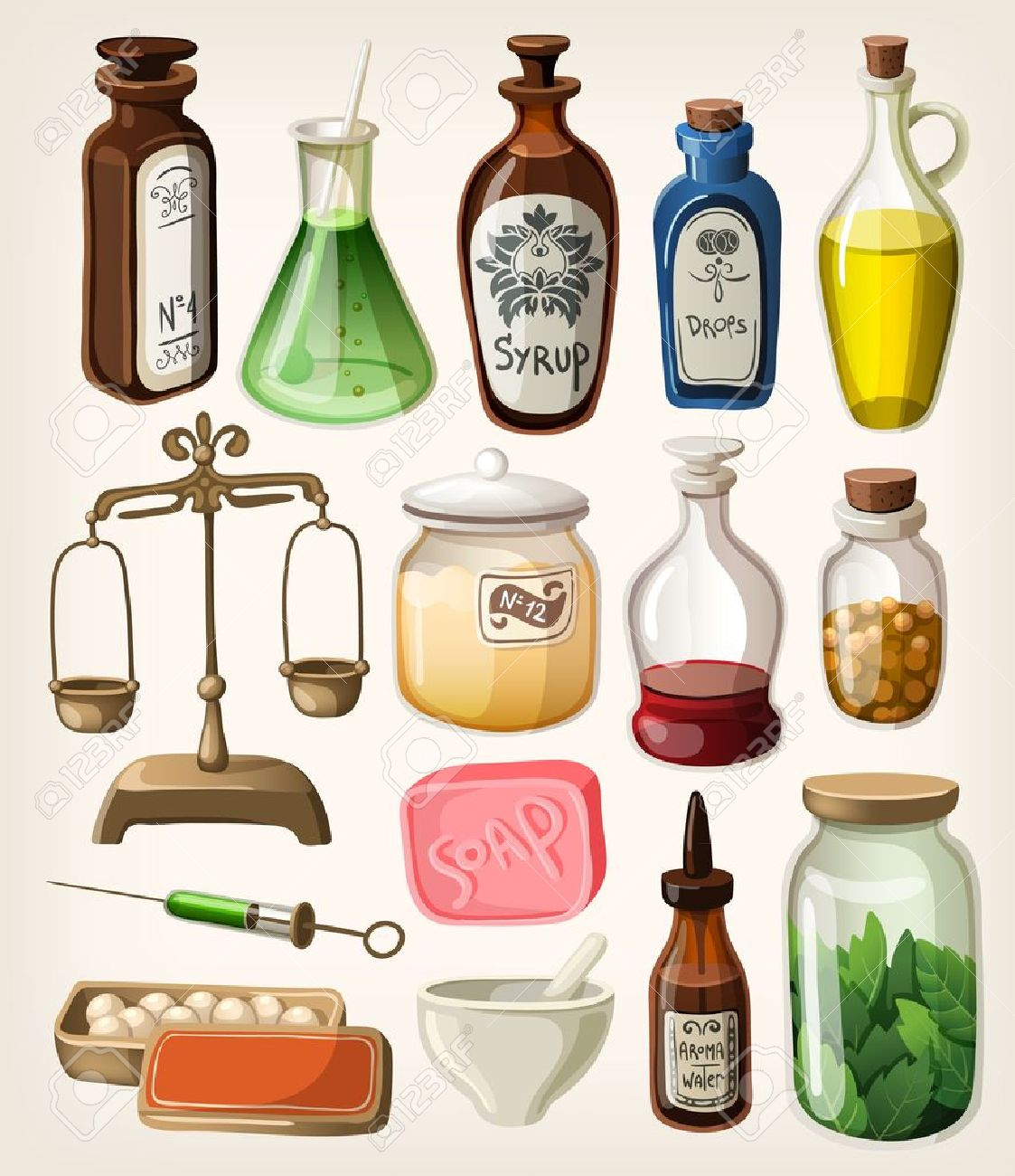 2,610 Apothecary Stock Illustrations, Cliparts And Royalty Free.