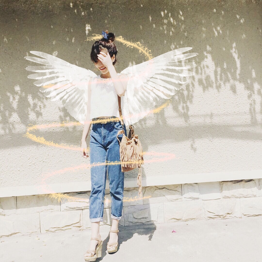 Baby, I Can See Your Halo: Get Your Angel Wings Clipart Here.