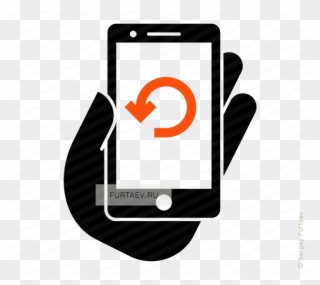 Clipart Royalty Free Library Smartphone Refresh Icon.