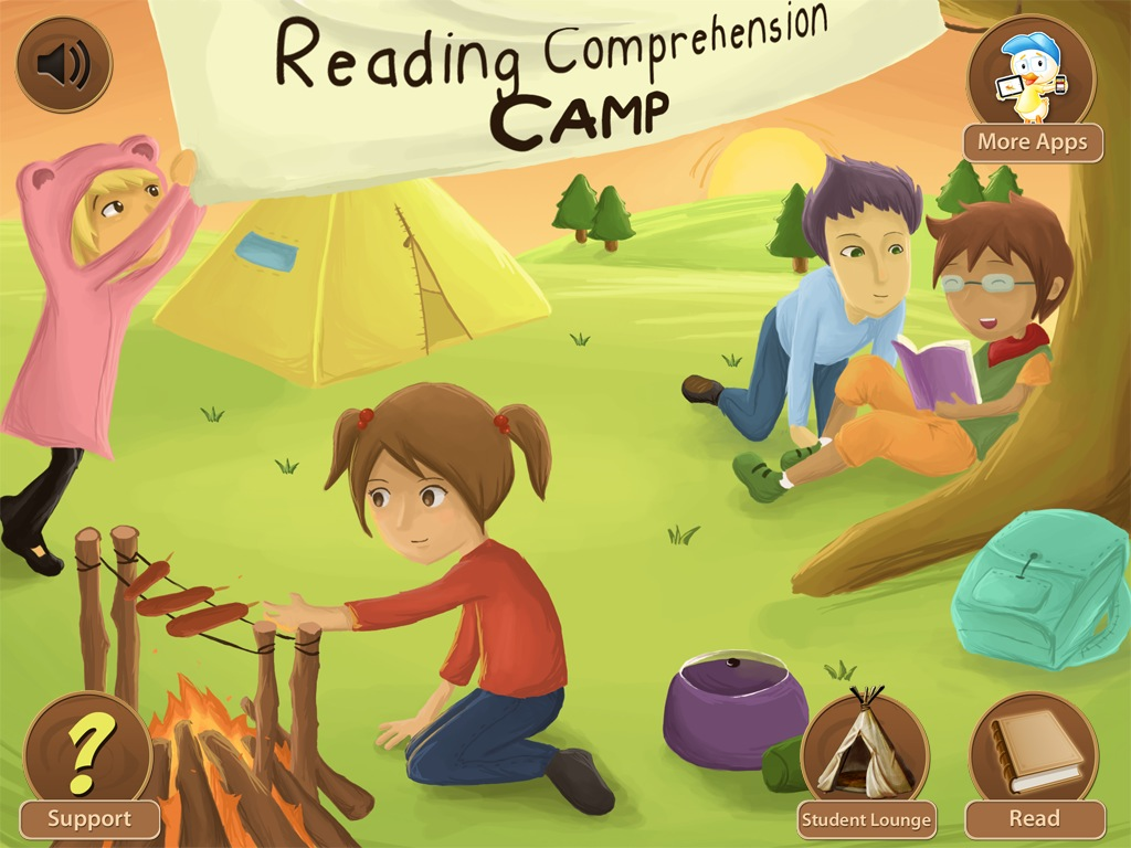 Reading Comprehension Camp {App Review Giveaway!}.