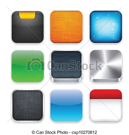App clipart template.