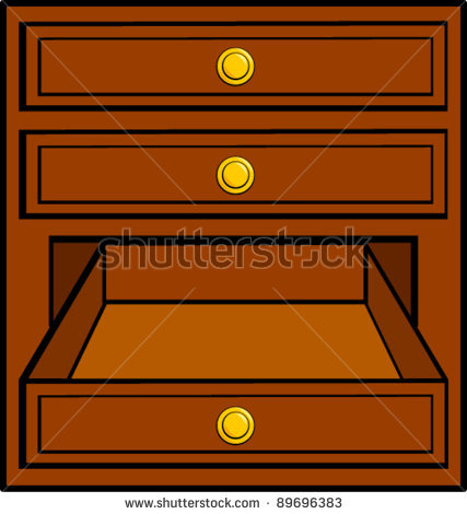 Kitchen Drawer Clipart.