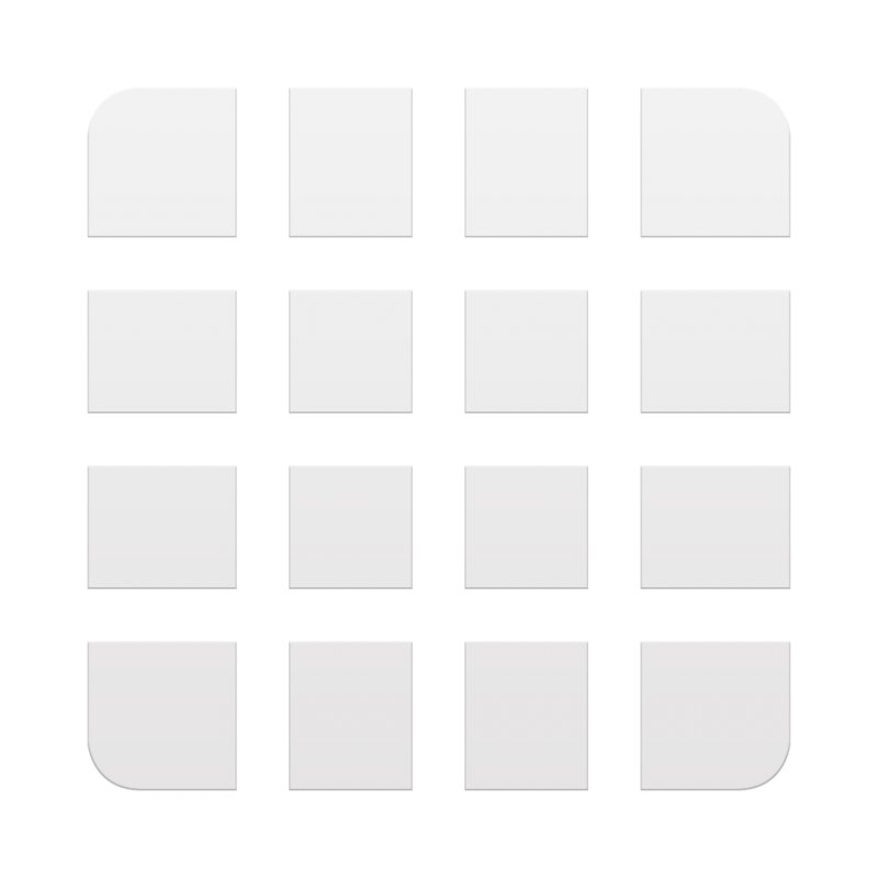 Drawer Icon Galaxy S6 PNG Image.