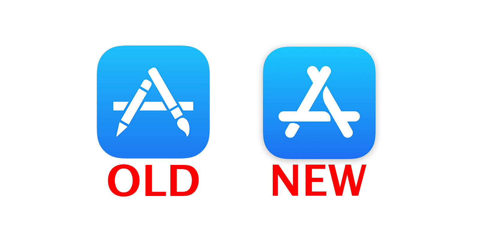 Apple just changed the App Store icon for the first time in.