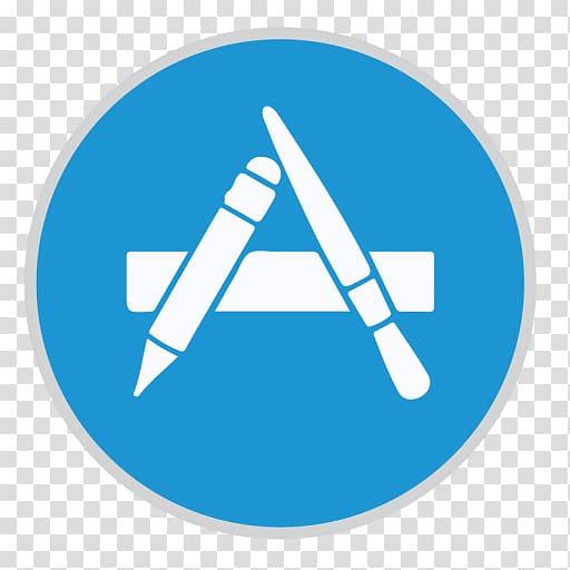A icon, angle symbol logo, App Store transparent background.