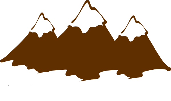 Appalachian mountains clipart kid.