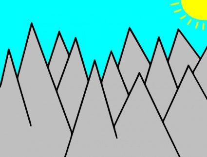 mountain clip art #12.