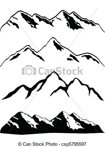 Appalachian Mountain Range Clipart.