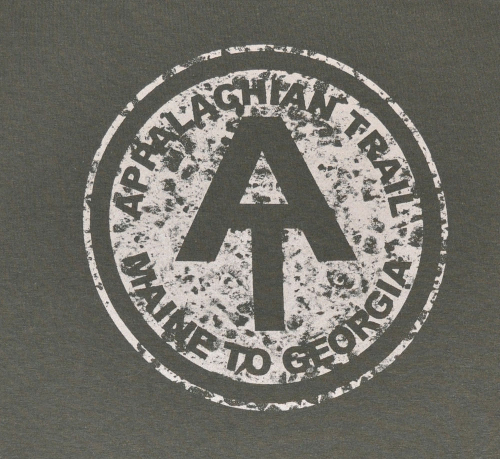 Appalachian Trail T Shirt: Vintage Trail Plaque.