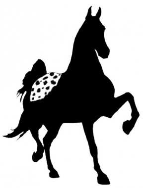 Free Animals Clip Art By Phillip Martin, Appaloosa Horse.
