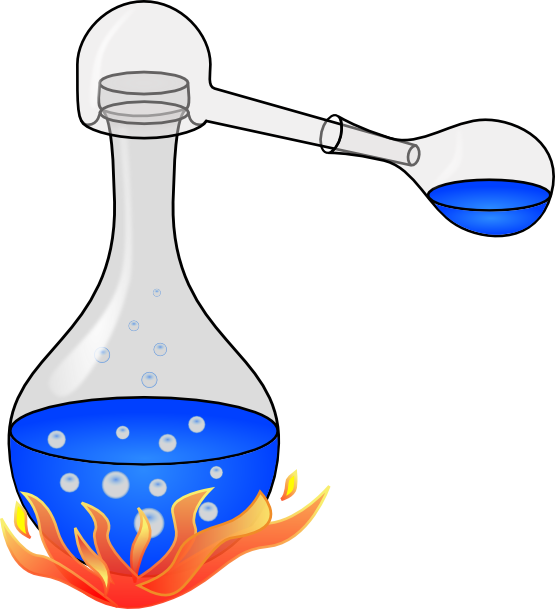 Chemistry apparatus clipart.