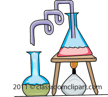 Chemistry Lab Equipment Clipart.