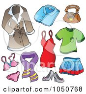 Royalty Free Clothing Illustrations by visekart Page 1.