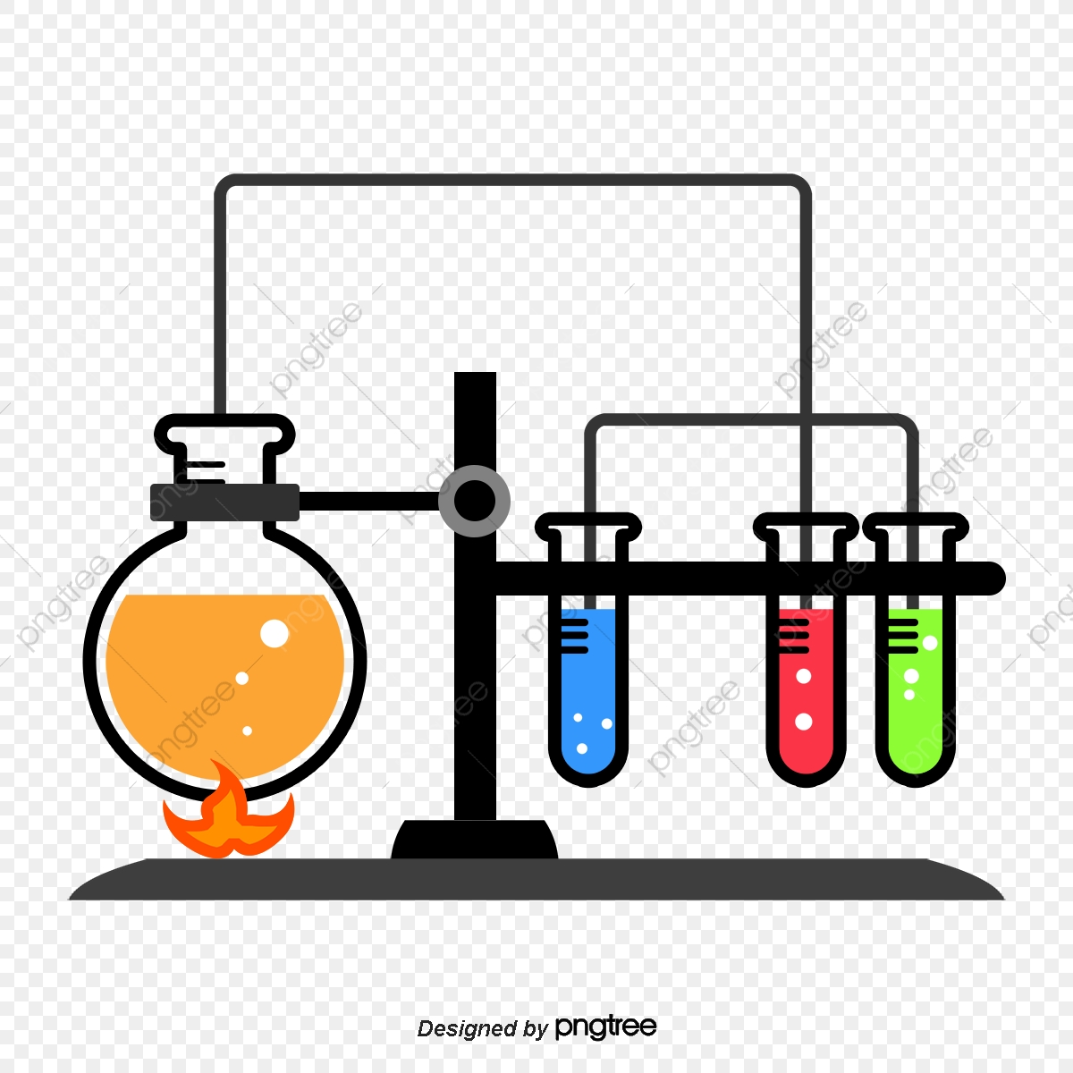 Experiment clipart laboratory apparatus, Experiment.