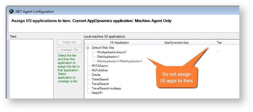 Configure the .NET Machine Agent.