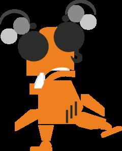 Strange Robot Clip Art at Clker.com.