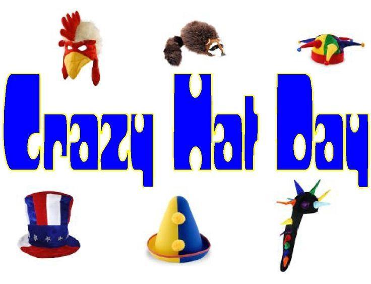 Crazy Hat Clip Art.