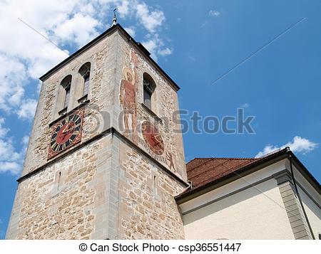 Stock Photo of Switzerland, Appenzell.