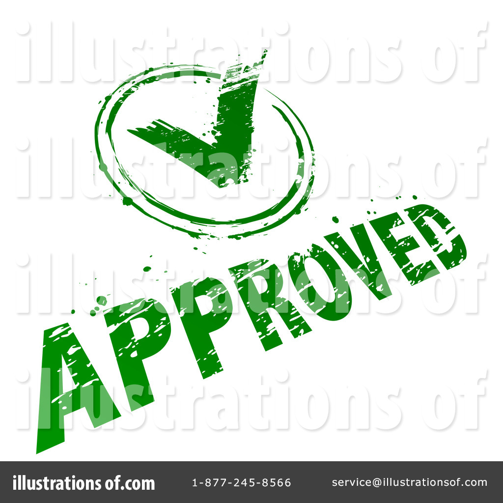 Approve Clipart #32107.