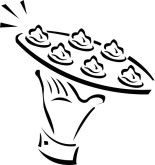 Hors d'Oeuvres Clip Art.