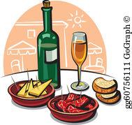 Appetizers Clip Art.