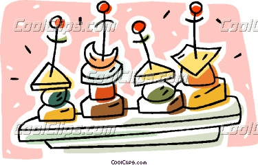 Appetizers clipart free.