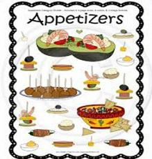 Free Appetizers Clipart.