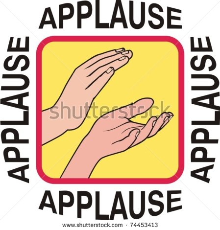 Applause clipart - Clipground