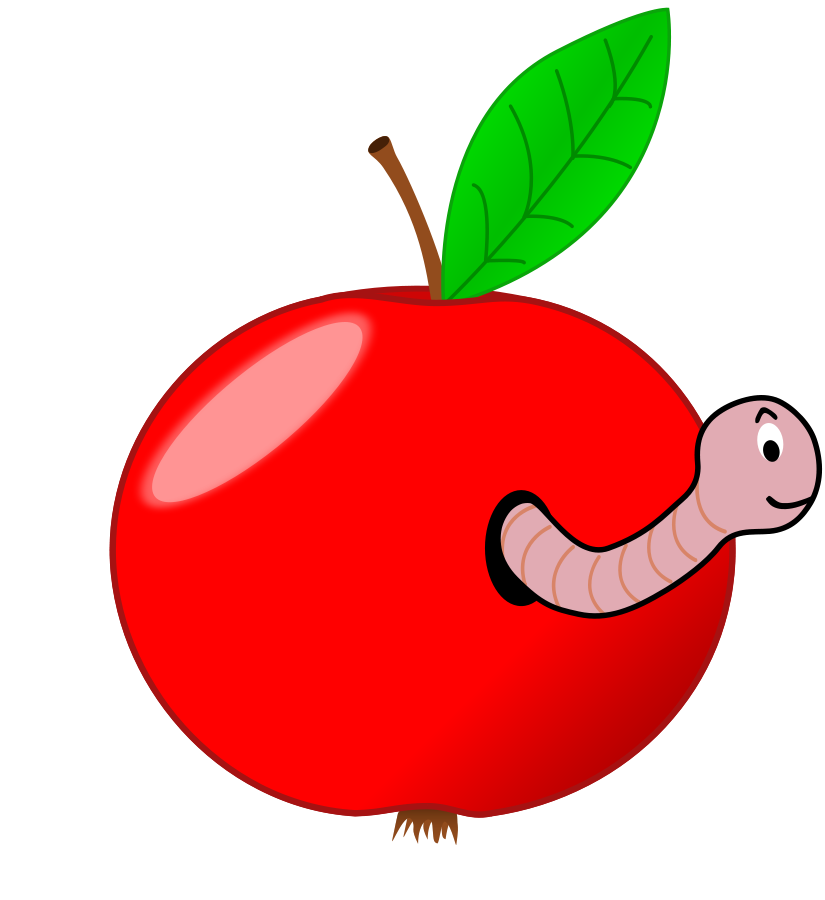 Free Apple Worm Cliparts, Download Free Clip Art, Free Clip.
