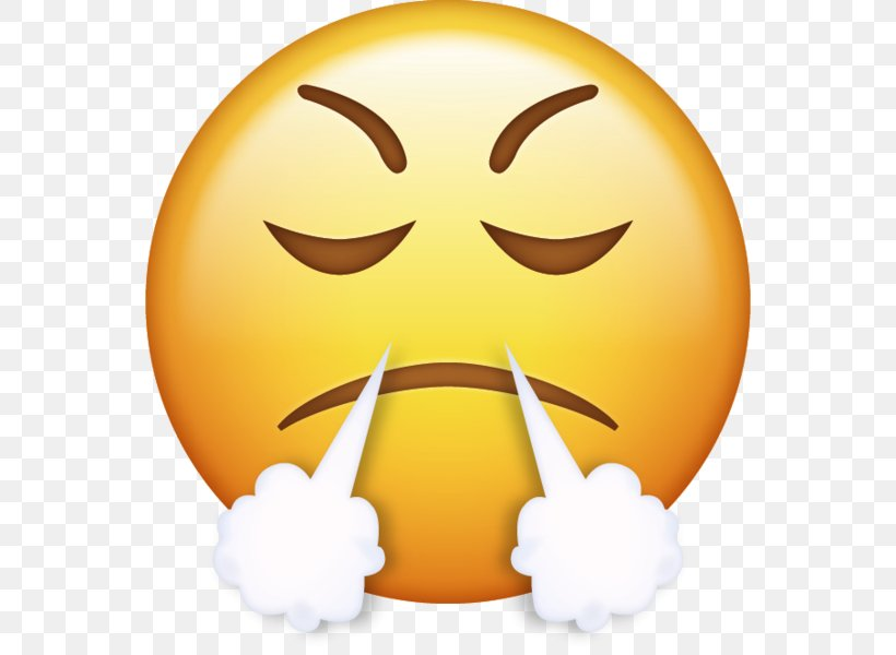 IPhone Emoji Anger Smiley Emoticon, PNG, 554x600px, Iphone.
