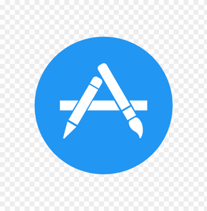apple app store vector logo (.eps + .ai + .svg) download for.