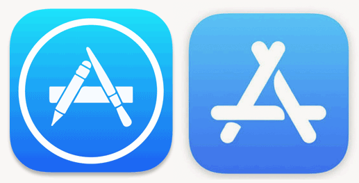 Apple Just Built the App Store Icon from Popsicle Sticks.