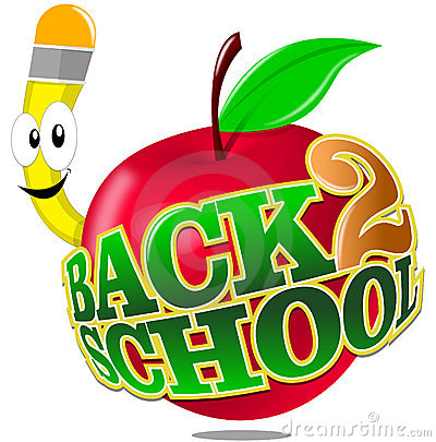Apple School Clipart.