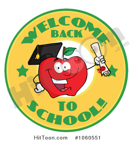 Back To School Clipart #1060551: Welcome Back to School.