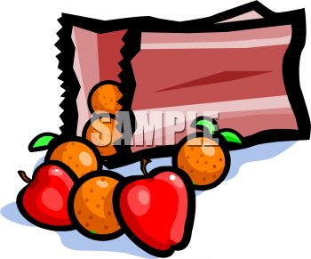 Gallery For > Bag of Apple's Clipart.