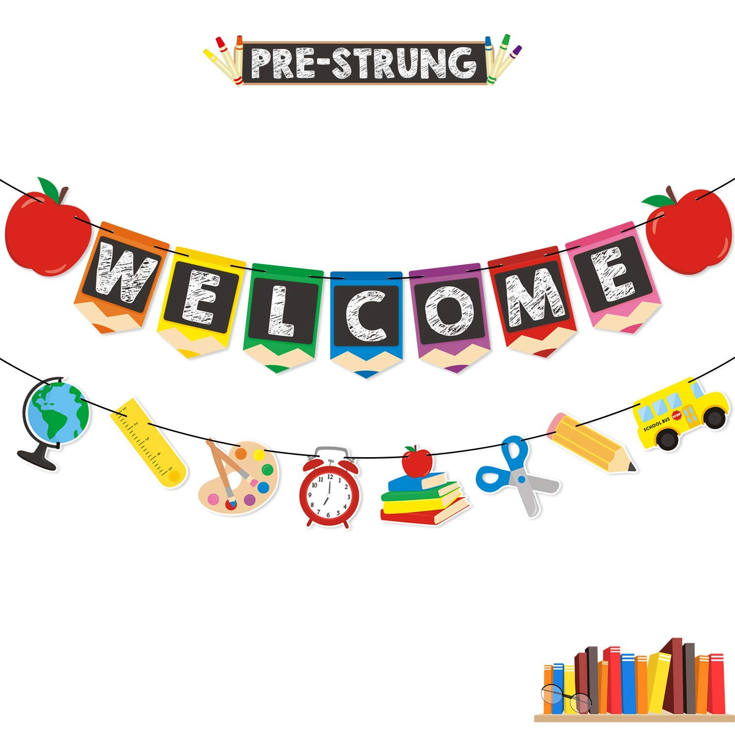 Amazon.com: Welcome Banner Kids Back to School Theme Party.