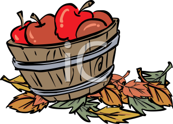 Fall Apple Basket Clipart Free Clip Art Images #G1CQ1S.