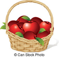 Basket red apples Stock Illustration Images. 444 Basket red apples.