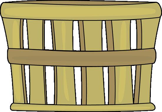 Apple basket clip art.