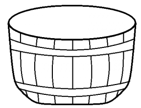 bushel of apples coloring page - apple basket clipart outline clipground
