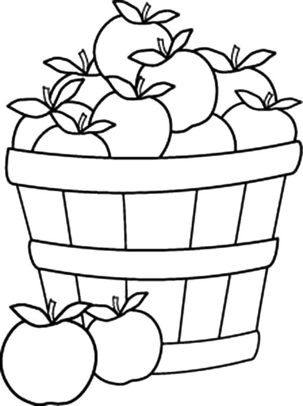 Empty Fruit Basket Clip Art Black And White Pictures to Pin on.