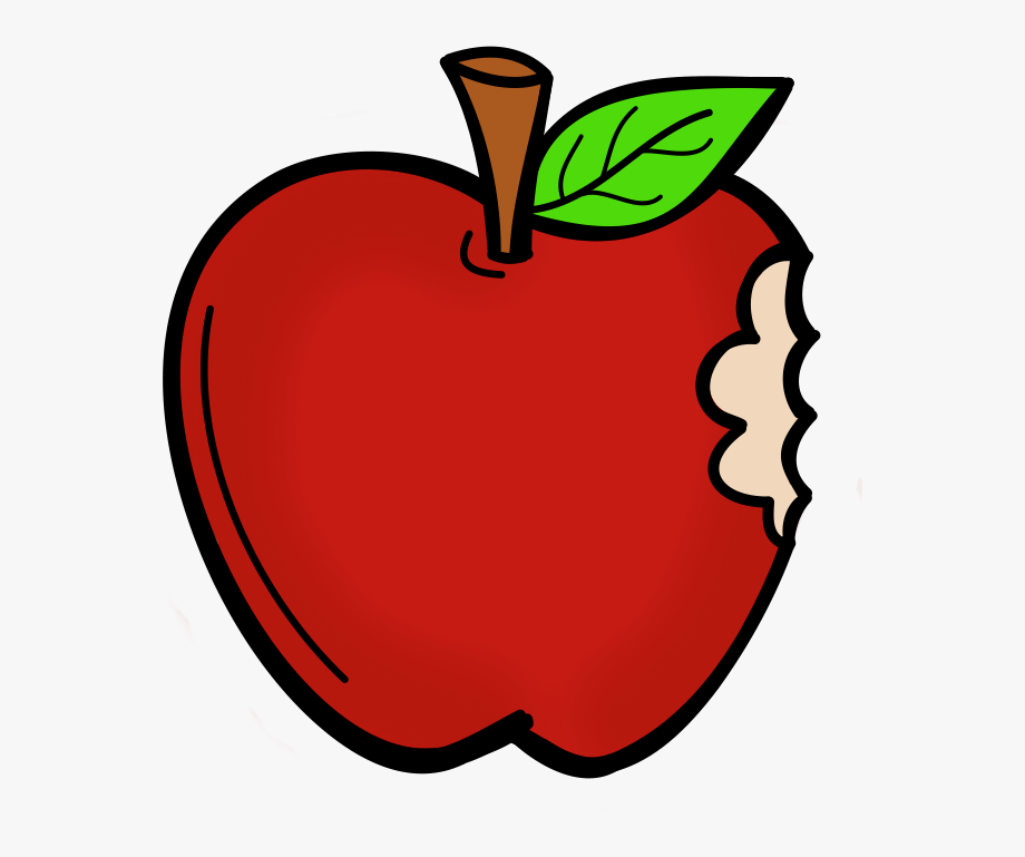 Apple With Bite Clipart , Transparent Cartoon, Free Cliparts.