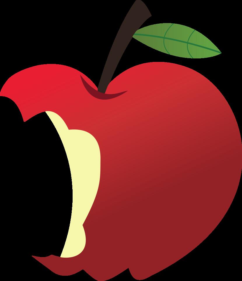 Free Bitten Apple Png, Download Free Clip Art, Free Clip Art.