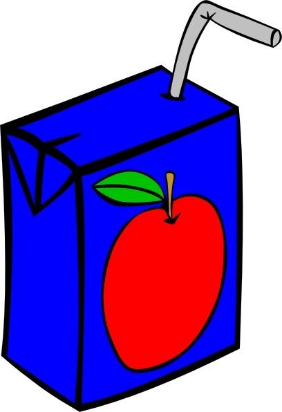 Apple Juice Box clip art Free vector in Open office drawing.
