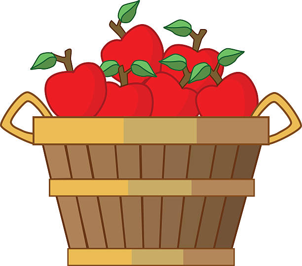 Bushel of apples clipart 3 » Clipart Station.