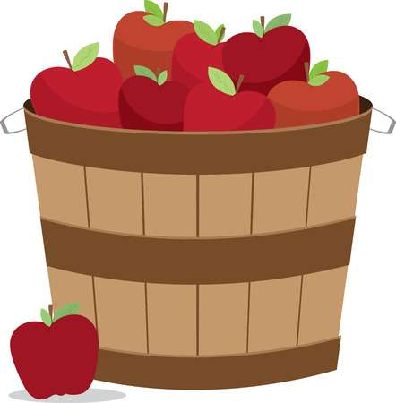 Bushel of apples clipart 2 » Clipart Station.