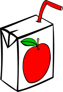 Apple Juice Carton Clip Art at Clker.com.