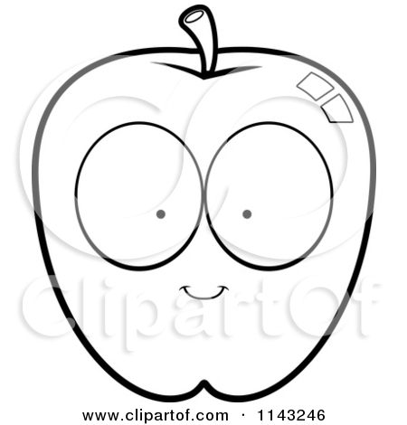 Showing post & media for Apple black and white cartoon.