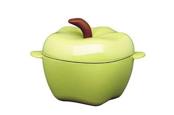 Cast Iron Apple Casserole.